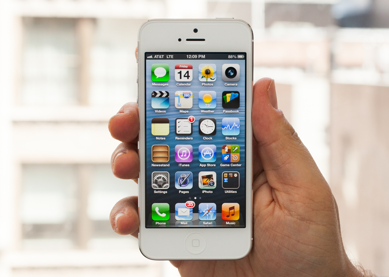 iPhone 5 First Weekend Sales Top Five Million |