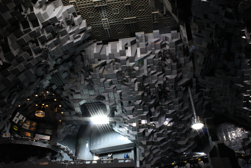 This Custom Batcave Is Made Of 20 000 Lego Bricks