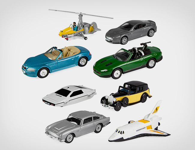 James Bond 007 Miniature Vehicles Set