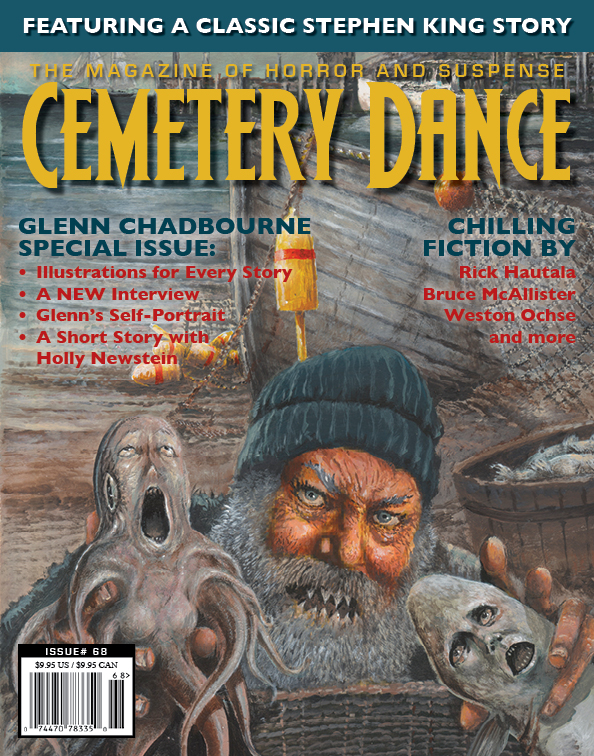 Cemetery Dance Includes Stephen King Rare Short Story The Glass Floor
