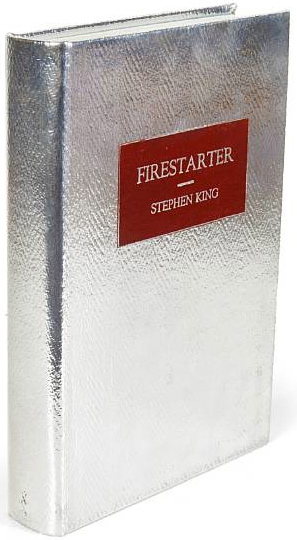 an analysis of the firestarter novel by stephen king Free essays from bartleby | essay analysis of why we crave horror movies thesis: stephen king never clearly states the thesis of this essay however there is.