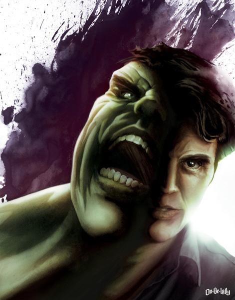 Hulk Jayson Weidel Ltd Art Gallery MINTcondition