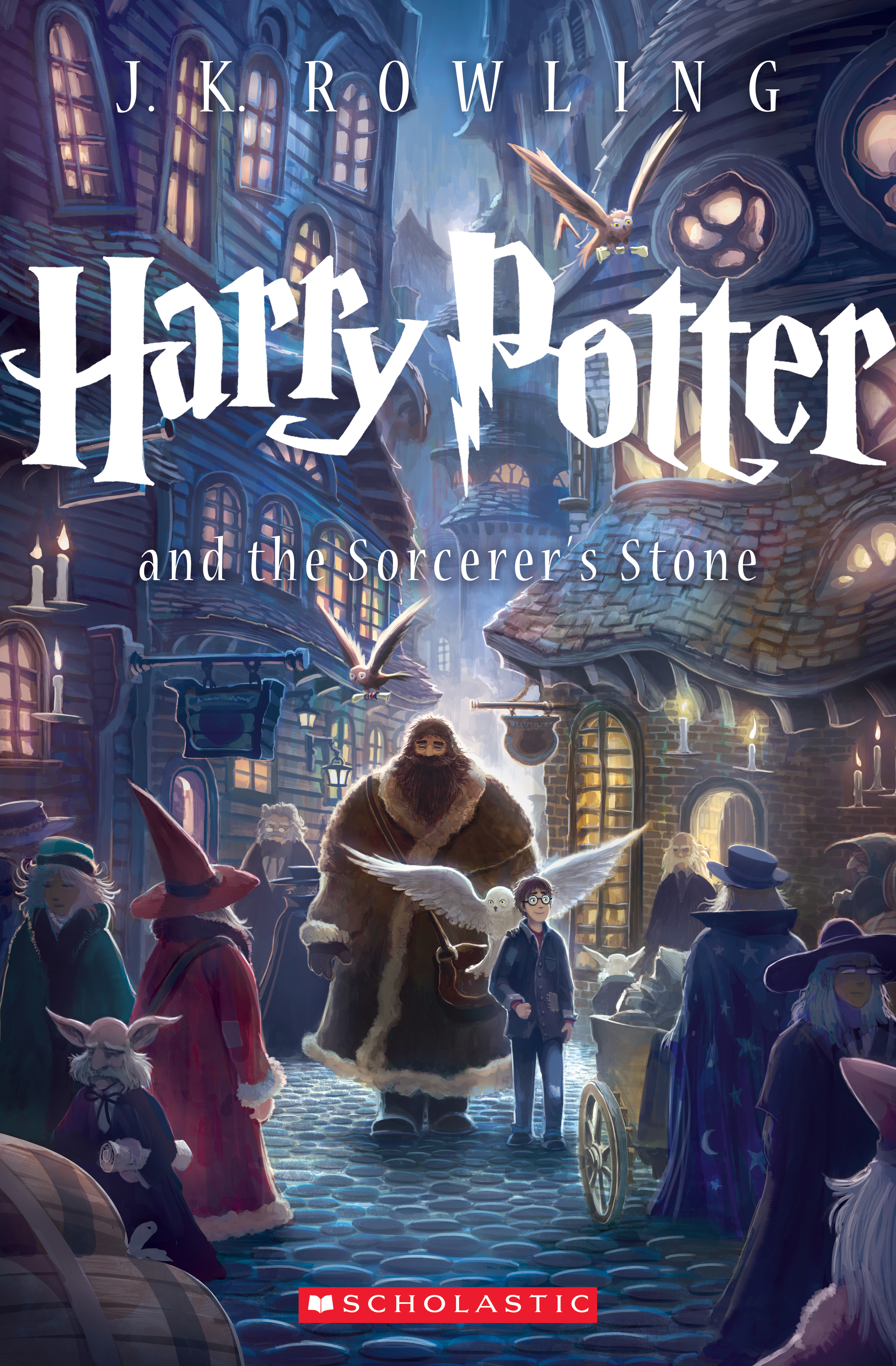 Harry Potter Books Year Published : Scholastic unveils first of seven new covers for the harry