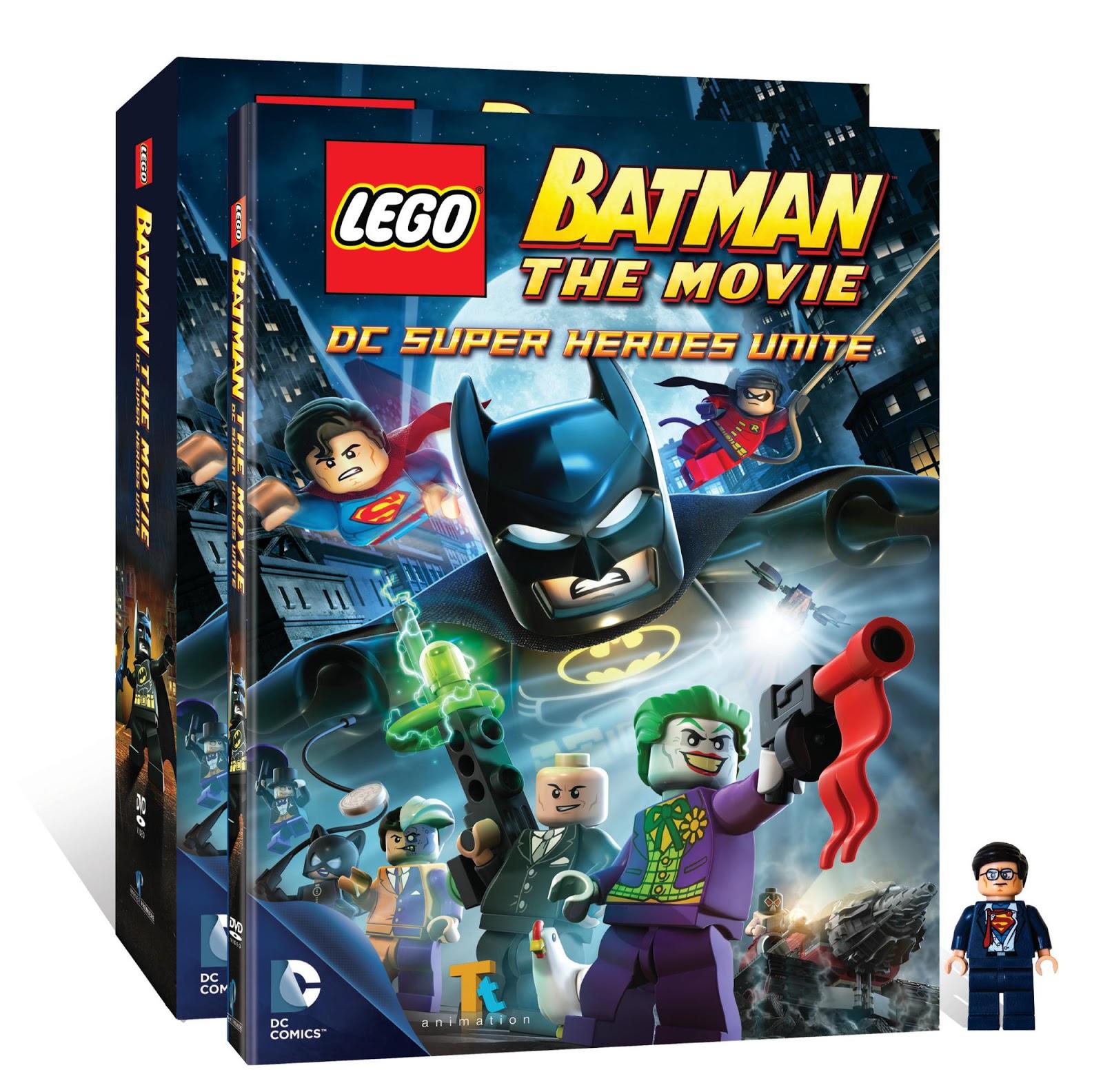 Lego batman the movie dc heroes unite blu ray trailer - Super batman movie ...