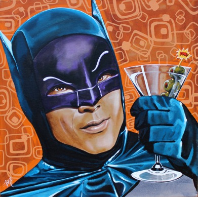 Image result for adam west batman pow