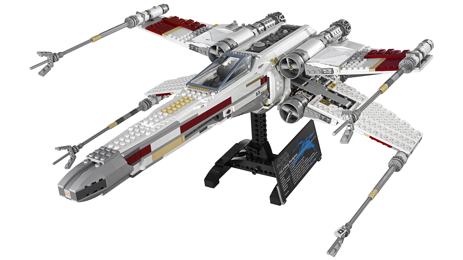 lego red five x wing starfighter. Black Bedroom Furniture Sets. Home Design Ideas