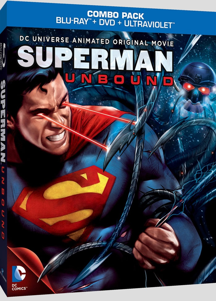 Superman Unbound Dvd superman: unbound is coming to blu-ray, dvd, on ...