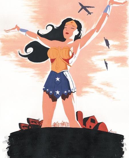 Wonder_Woman_Visit_Paradise_Island_Brian_Miller_Ltd_Art_Gallery_MINTcondition_1