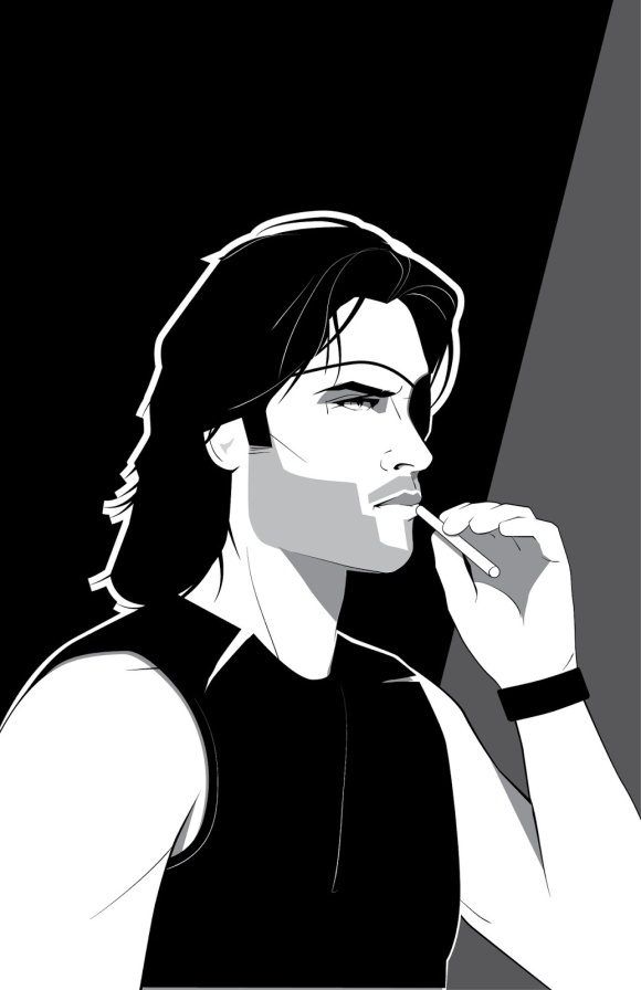 Escape From New York - Snake Plissken by Craig Drake