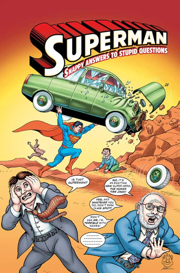 MAD Superman Snappy Answers Cover