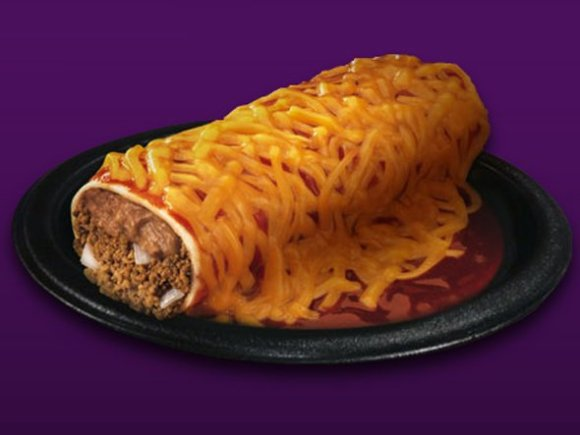 taco-bells-enchirito-is-beef-beans-onions-and-cheese-wrapped-in-a-tortilla-and-covered-with-enchilada-sauce