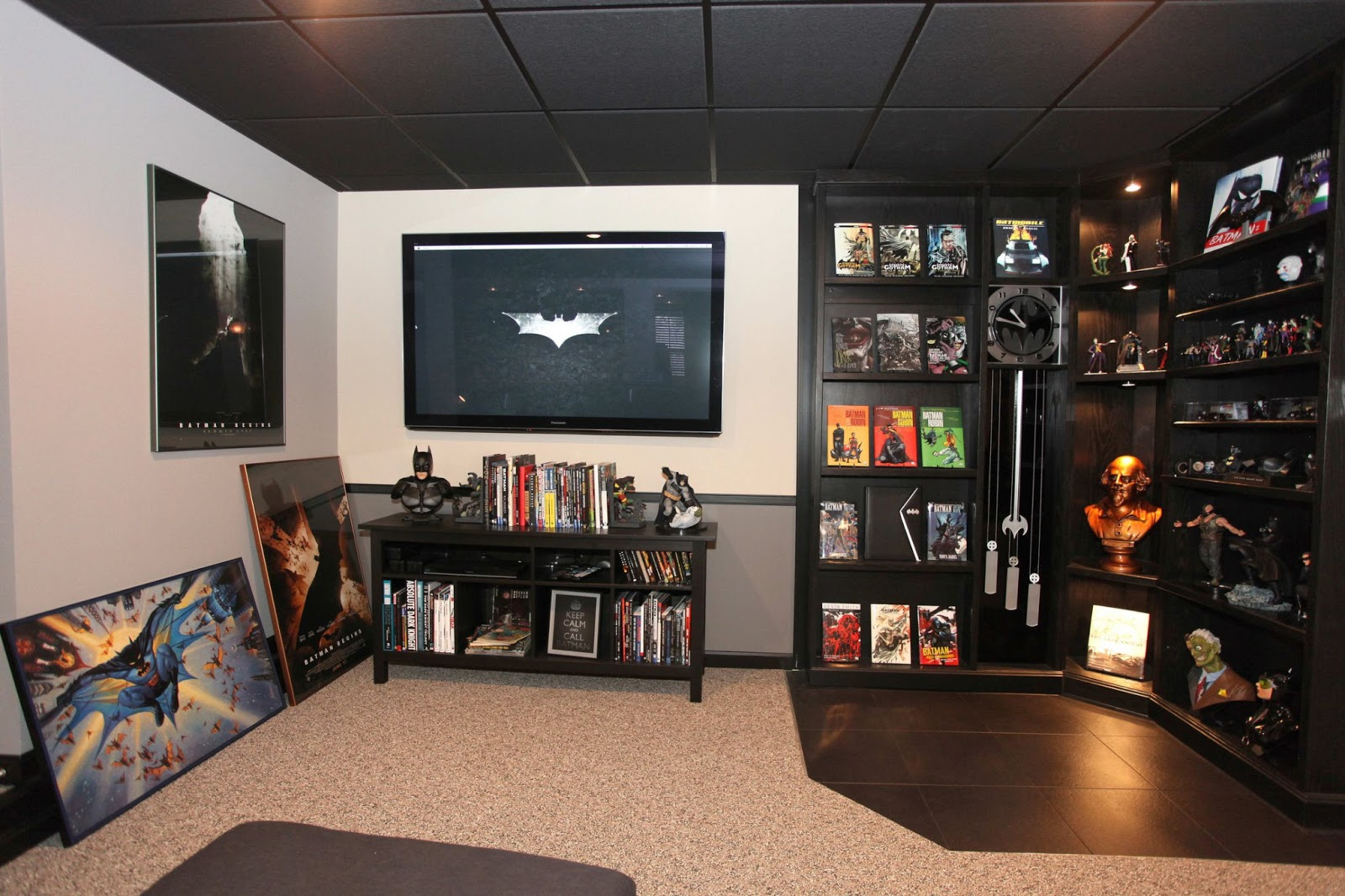batman fan builds an incredible real life batcave in his