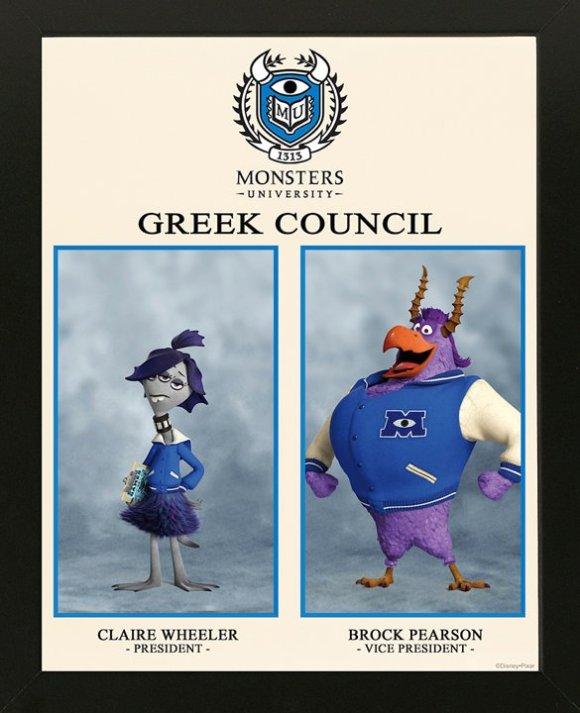 CLAIRE WHEELER, GREEK COUNCIL PRESIDENT