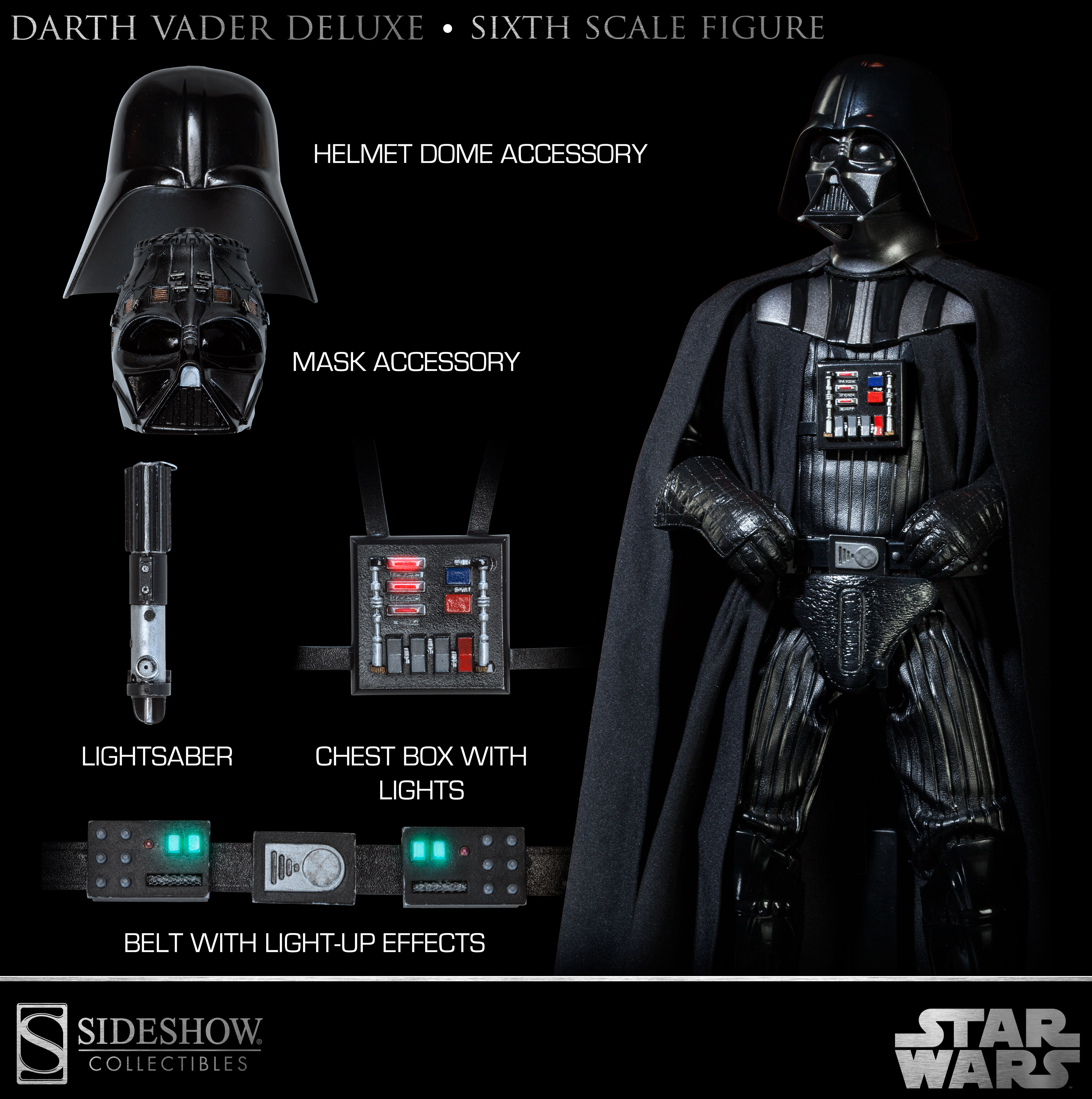 Sideshow Collectibles Announces The Most Detailed Darth