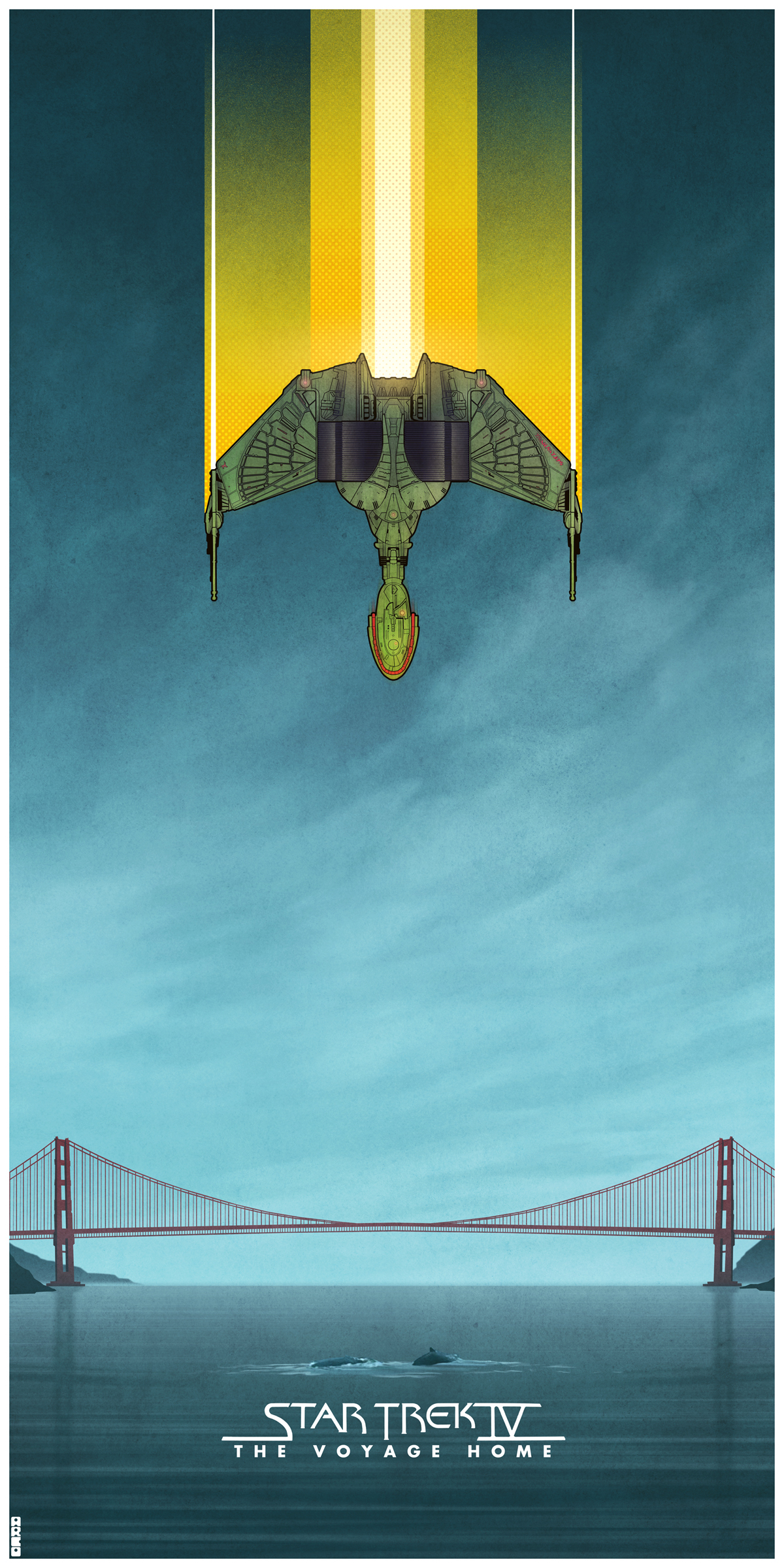 Star Trek Movie Posters By Matt Ferguson