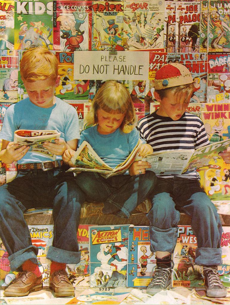 Vintage Kids Books My Kid Loves Koko S Kitten: Vintage Pictures Of Newsstands & Kids Reading Comics