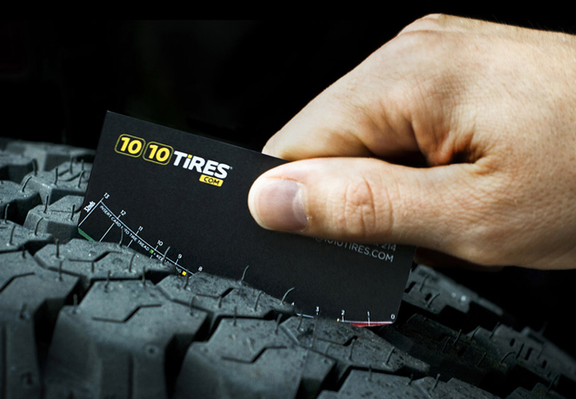 Cards for Tire shop business cards