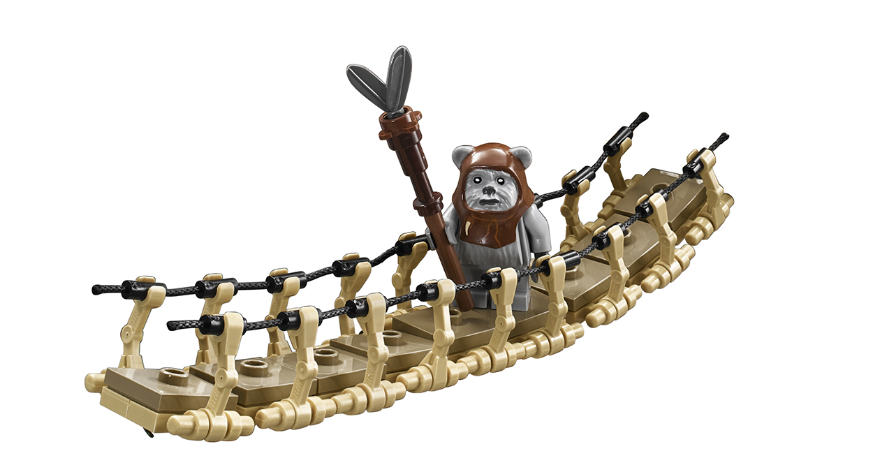 Lego star wars ewok village model 10236 coming september 2013