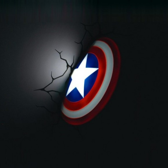 Target 3d Wall Art Thor Hammer Captain America Shield And