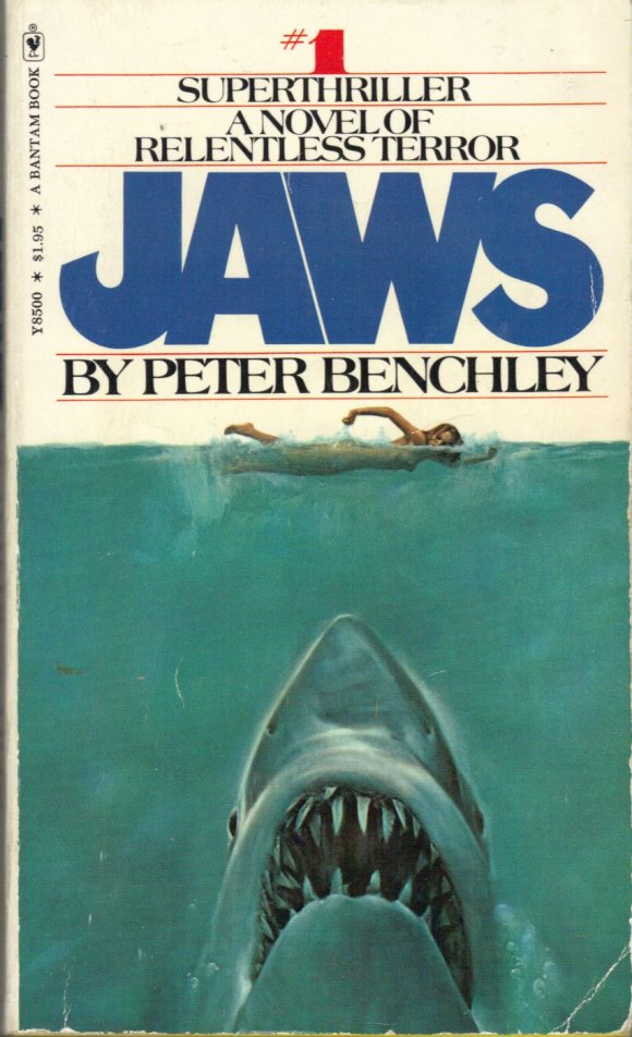 JAWS 1st edition  Benchley 1975