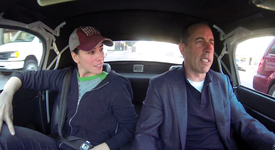 6f6b227fc47e Jerry Seinfeld   Sarah Silverman On Comedians In Cars Getting Coffee