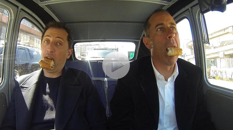 Commedians In Cars: Celebrities