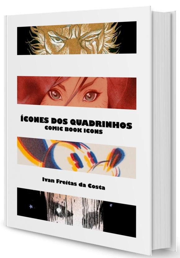 Livro Ícones dos Quadrinhos - Capa