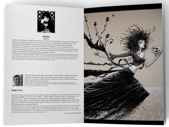 Livro Ícones dos Quadrinhos - Miolo
