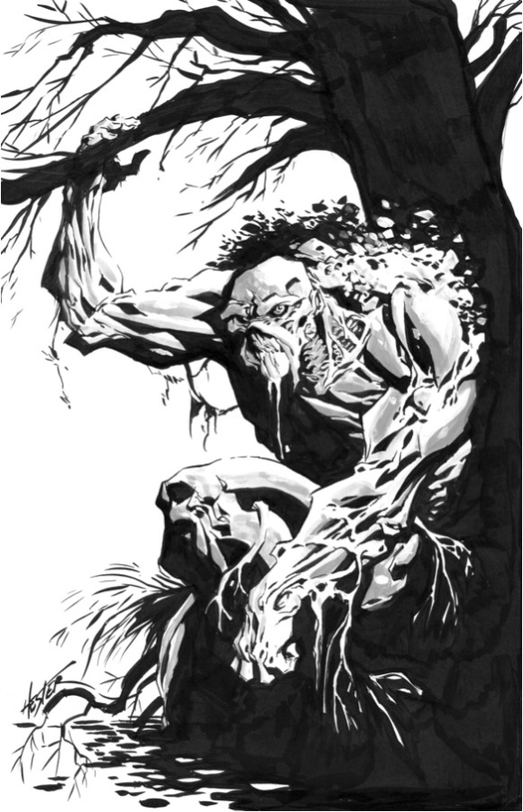 Monstro do Pântano - Phil Hester
