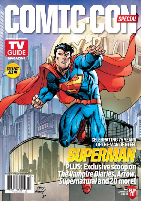 WBSDCC TVGM Cover D-1 Superman 75