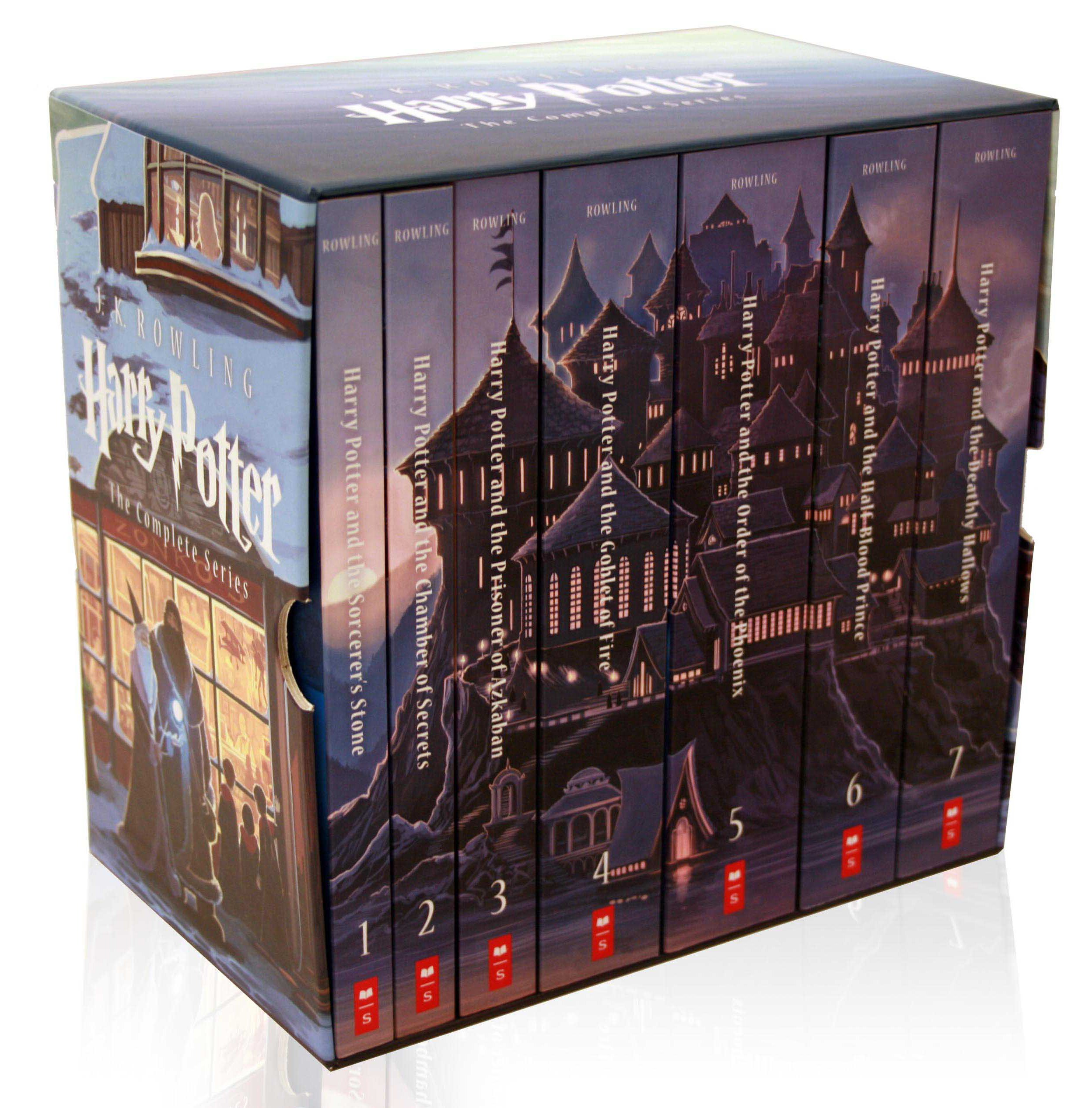 Harry Potter Book Gift Set ~ Scholastic to release special edition boxed set of j k