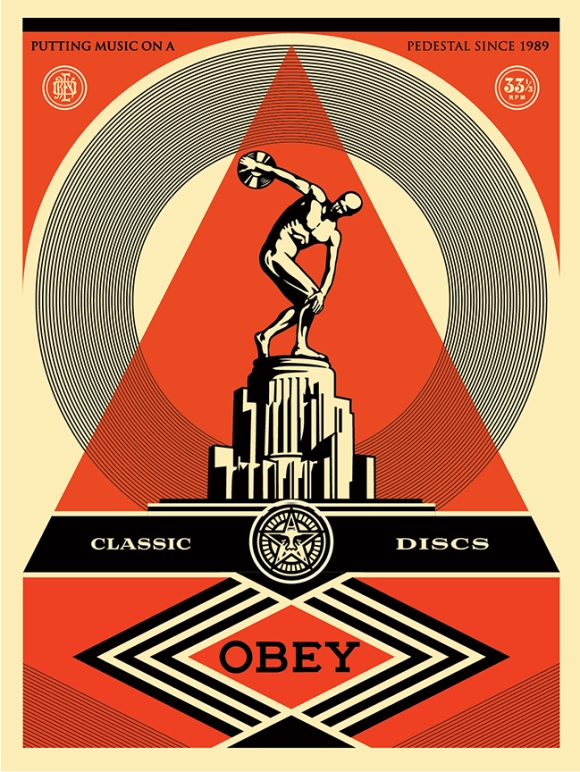 Obey Classic Discs poster FNL