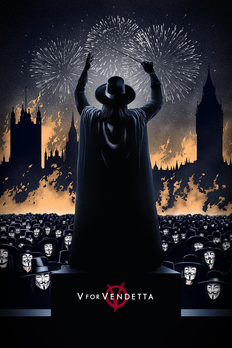 V For Vendetta Movie Poster MONDO To Release V For...