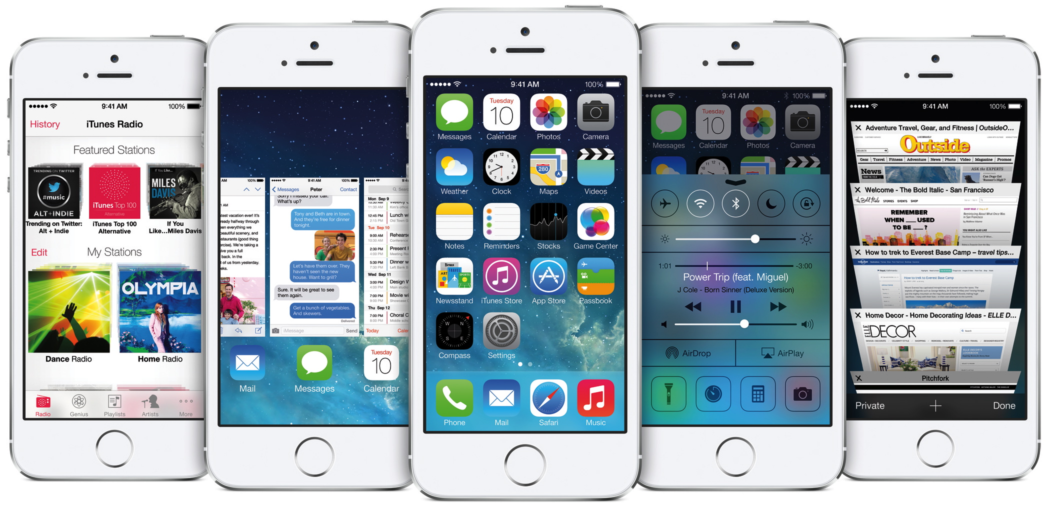 Ios 7 Iphone Wallpaper: IOS 7 With Completely Redesigned User Interface & Great