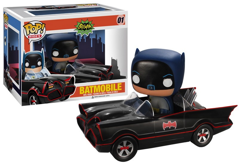 Funko Announces Pop Rides First Up The 1966 Batmobile