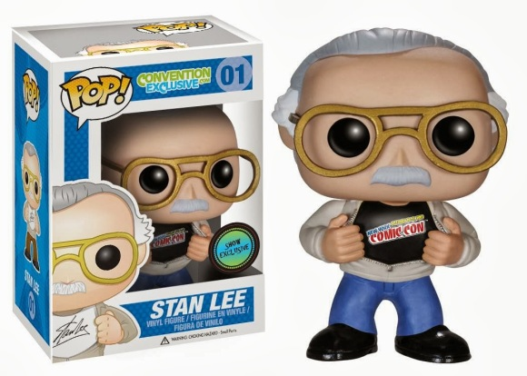 New York Comic Con 2013 Exclusive Stan Lee Pop! Vinyl Figure by Funko