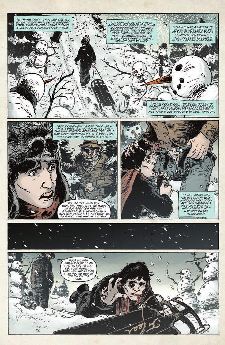 Preview Joe Hill S Idw Miniseries Wraith Welcome To
