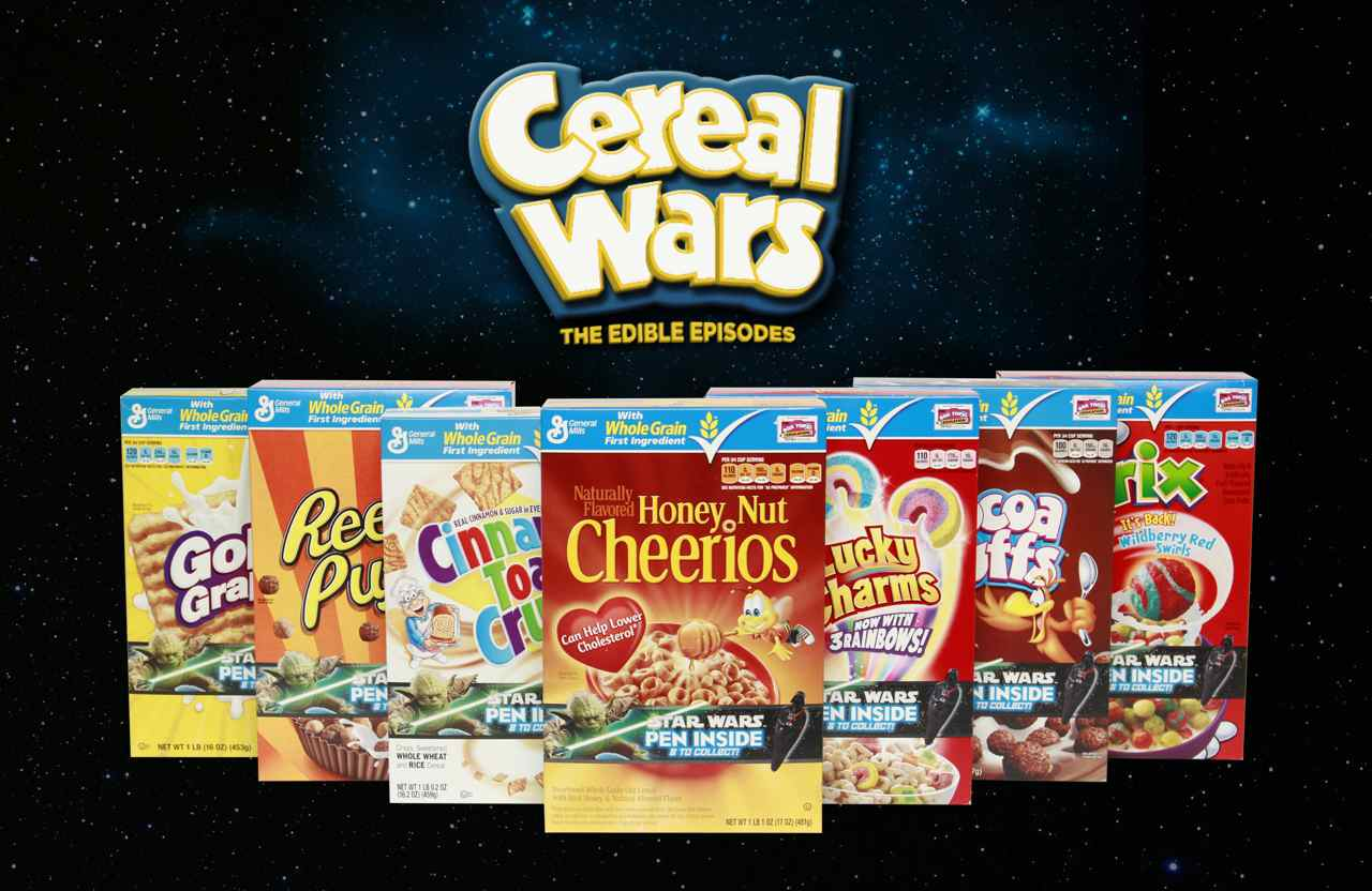 Cereal Wars Collectible Star Wars Pens In Specially