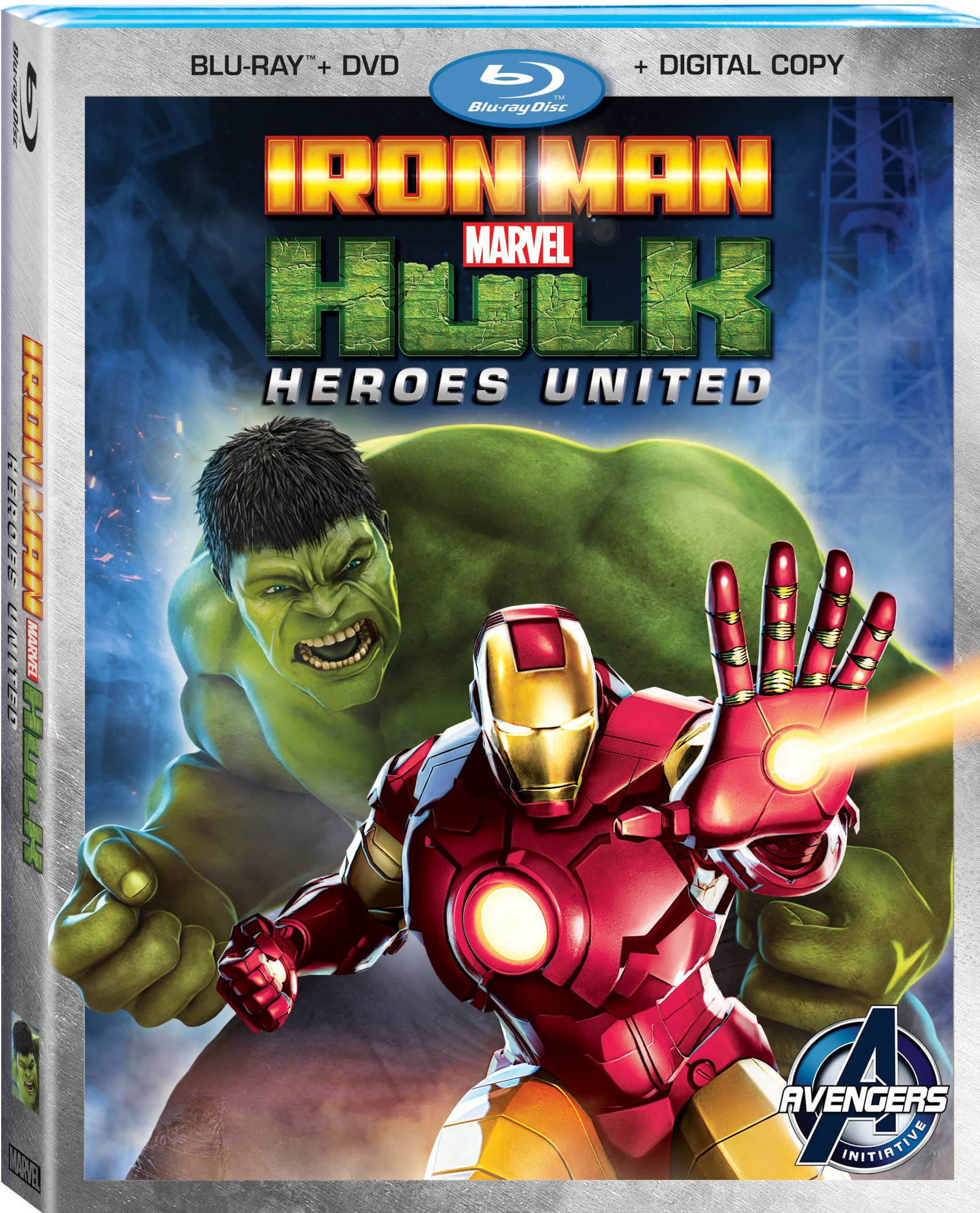 Marvels Iron Man & Hulk: Heroes United Coming To Blu-ray