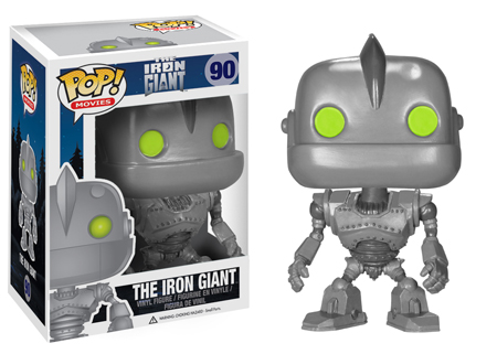 Funko Pop Robots Robby The Robot The Iron Giant And