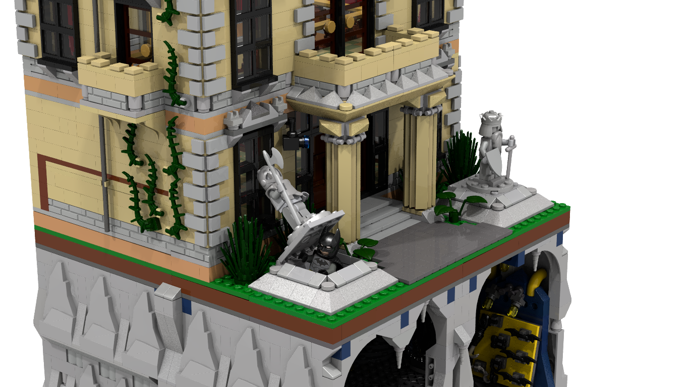 LEGO CUUSOO Assault on Wayne Manor