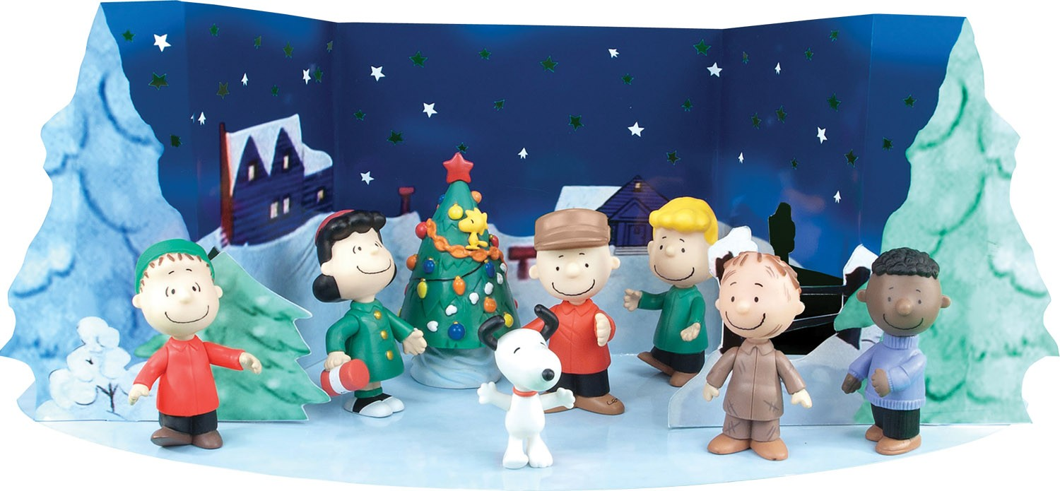 Have list charlie brown starry night christmas holiday figure set