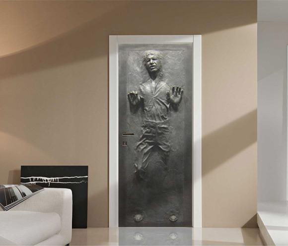 Han-Solo-Frozen-Door-Decal