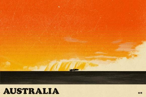 Mad Max - Australia by Justin Van Genderen