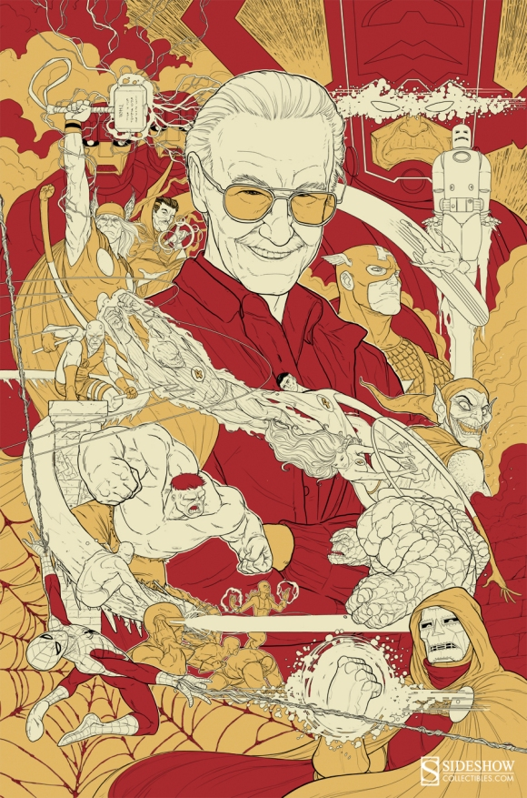 Stan Lee by David Igo, Tom Jilesen, Zane Yarbrough & Andrew McBride