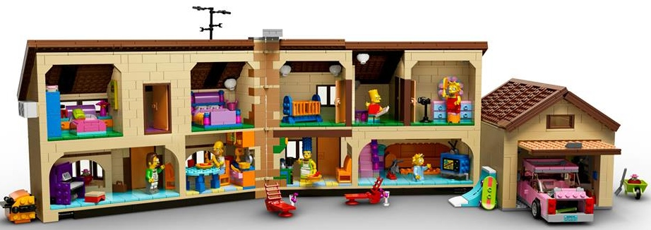 Lego To Release The Simpsons House In February 2014
