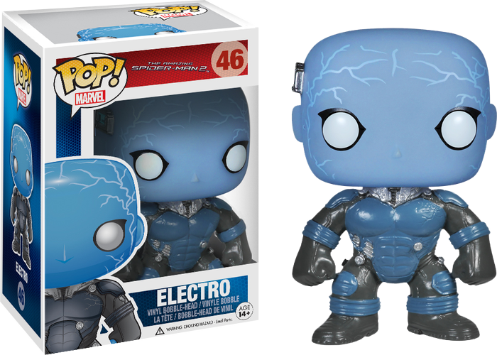 Funko Pop Marvel The Amazing Spider Man 2 Electro