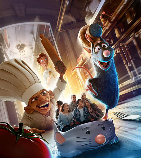 Ratatouille-Attraction
