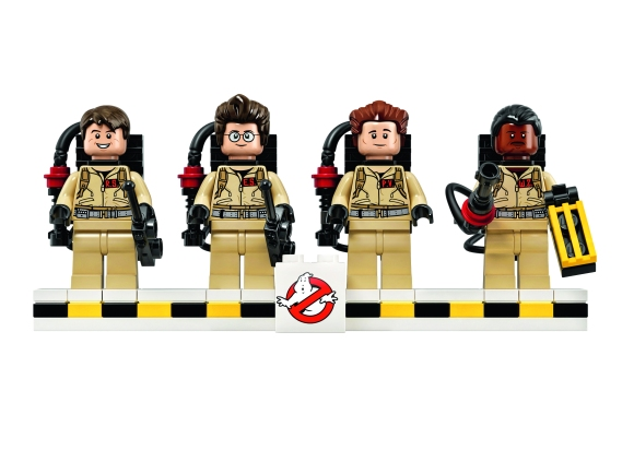 LEGO Ghostbusters Ecto-1_minifigure lineup