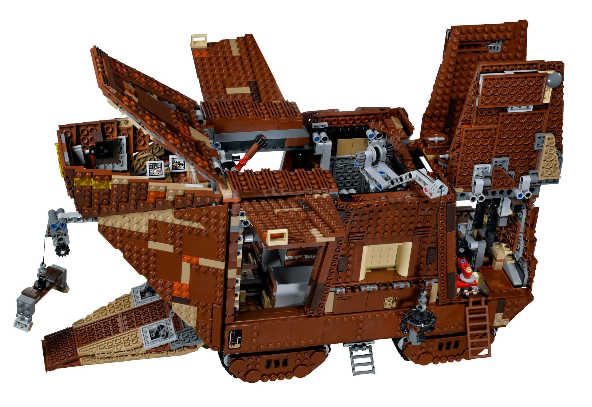 lego to release star wars sandcrawler in may 2014. Black Bedroom Furniture Sets. Home Design Ideas